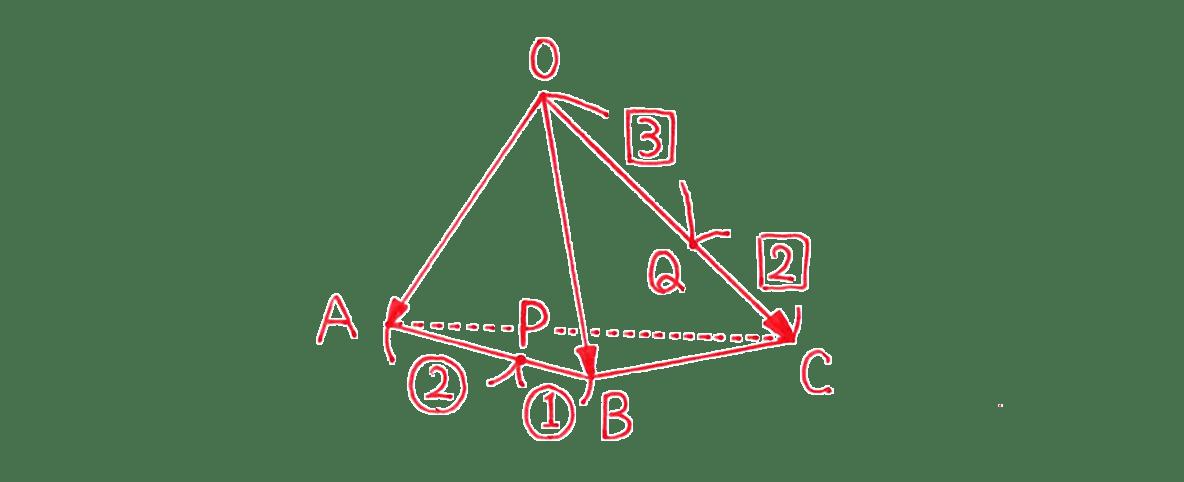 高校数学B ベクトル26 練習 答えの図