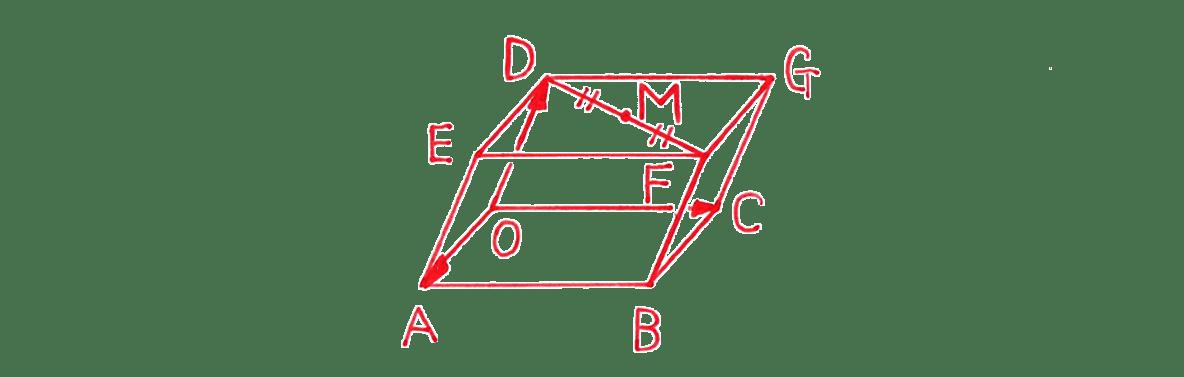 高校数学B ベクトル27 例題 答えの図
