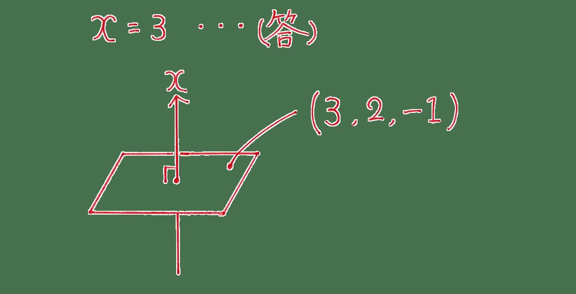 高校数学B ベクトル36 例題 答え