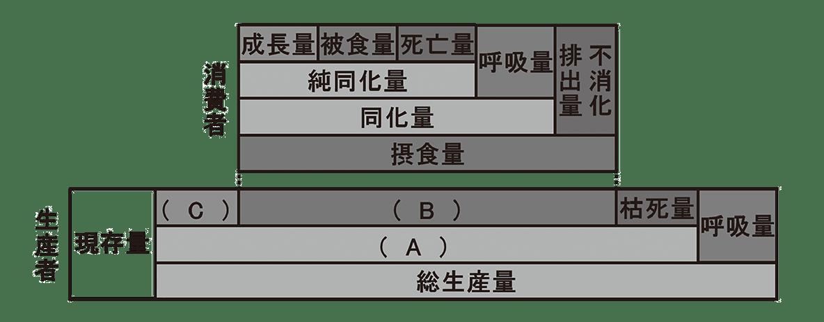 高校 生物 生態1 練習 練習(1) グラフ