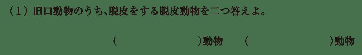 高校 生物 分類9 練習 練習(1)
