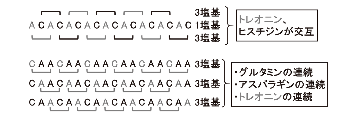 高校 生物 遺伝8 ポイント1 図のみ