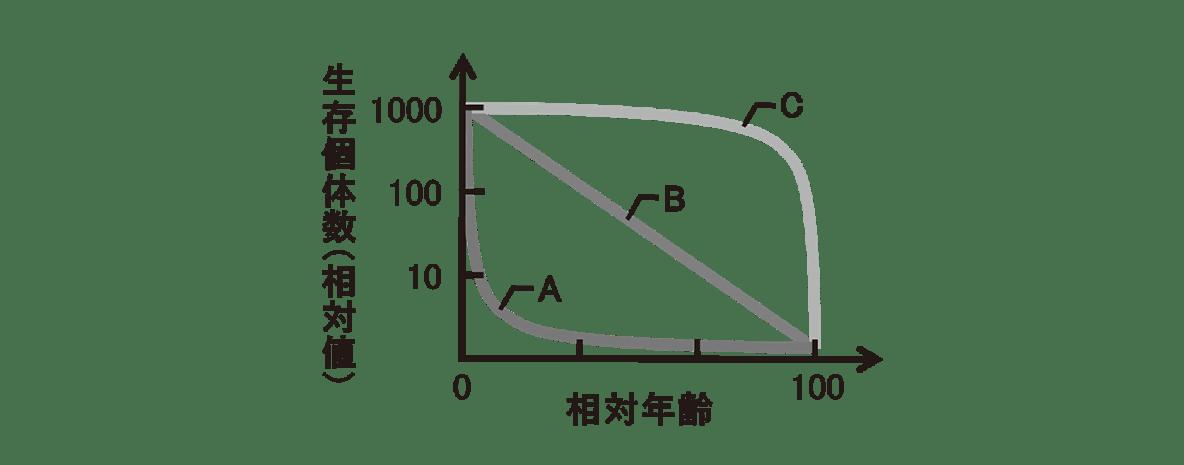 高校 生物 個体群12 演習3 演習3 グラフ