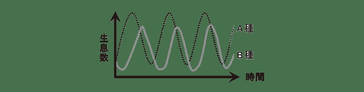 高校 生物 個体群8 練習 グラフ