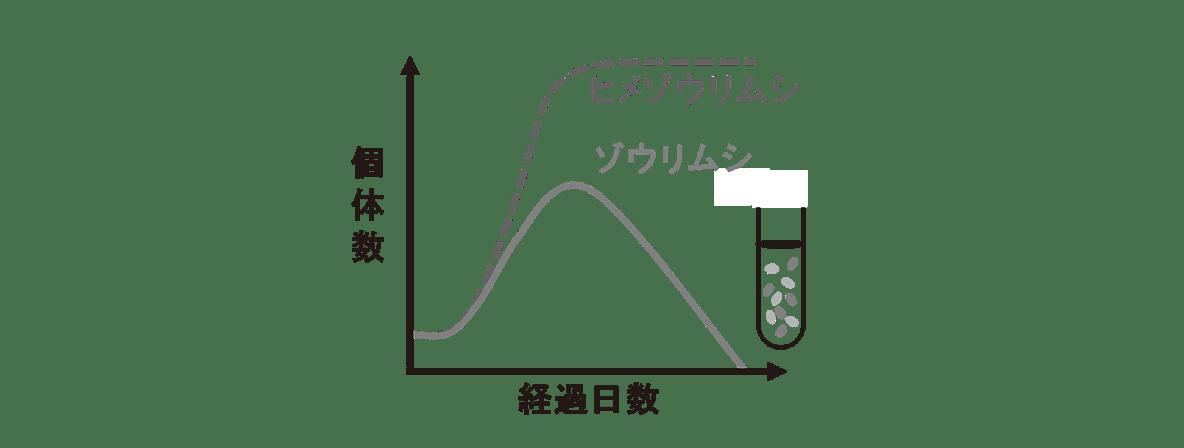 高校 生物 個体群9 ポイント1 グラフ