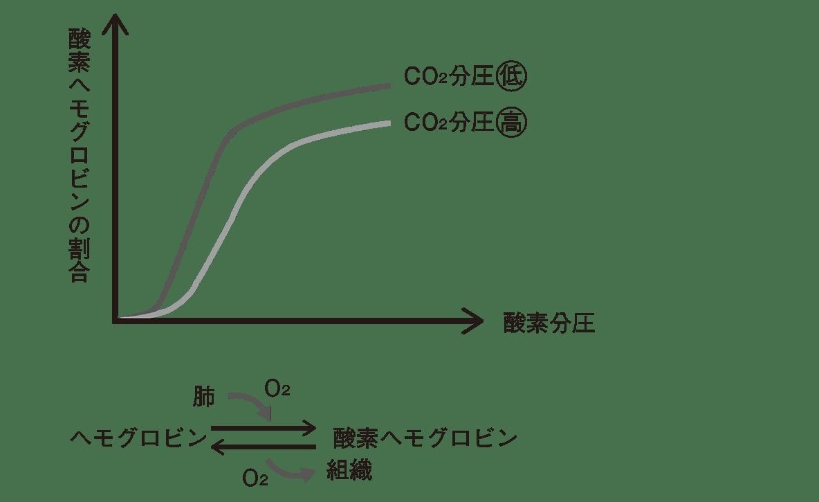 解離 と 酸素 は 曲線