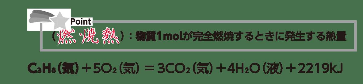 高校化学 化学反応とエネルギー4 ポイント1 上半分のみ 答えあり