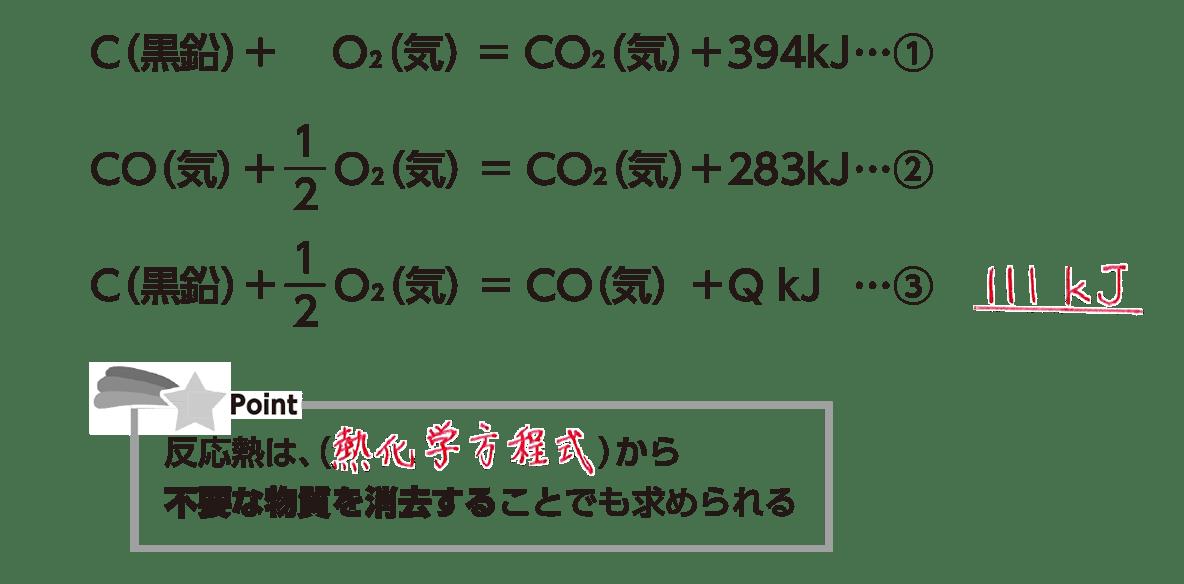 高校化学 化学反応とエネルギー8 ポイント2 答えあり
