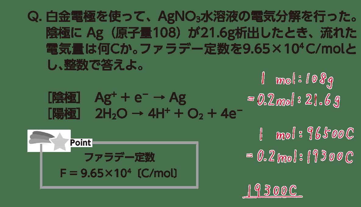 高校化学 化学反応とエネルギー24 ポイント1 答えあり