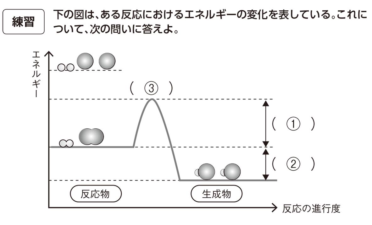 高校化学 化学反応の速さと平衡5 練習 答えなし