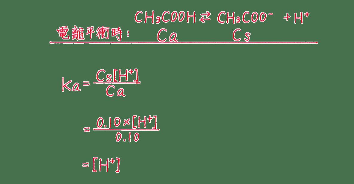 高校化学 化学反応の速さと平衡22 練習 答えの上から5行だけ
