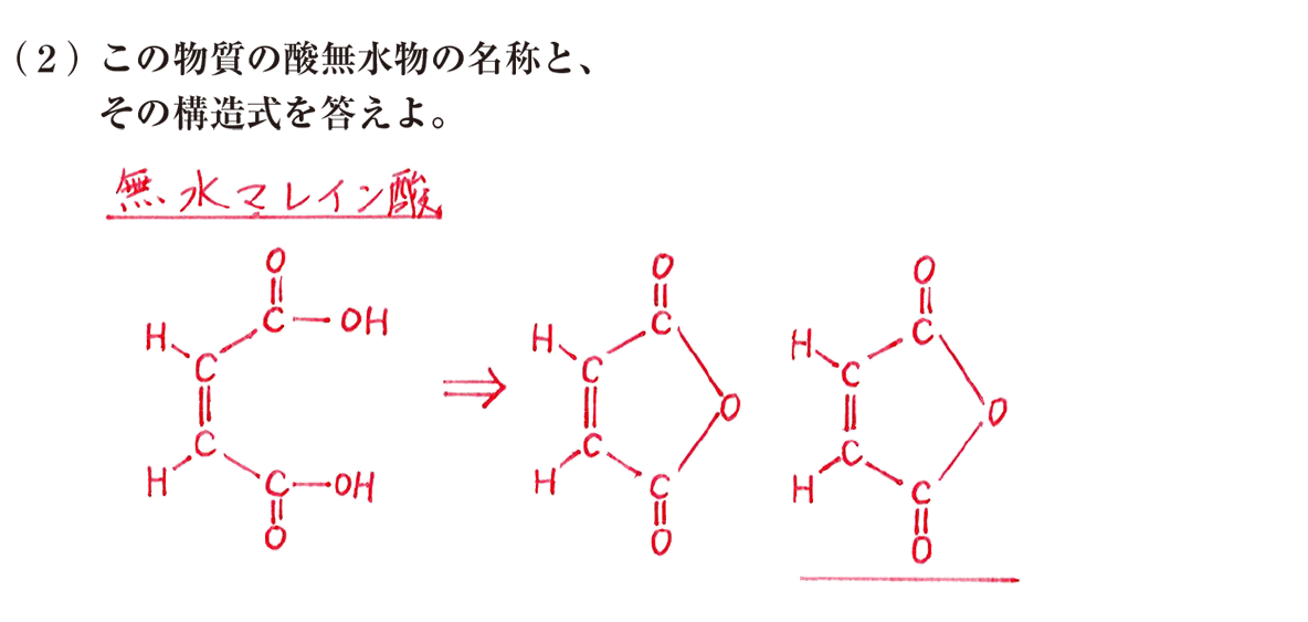 高校 化学 5章 3節 41 練習(2) 答え