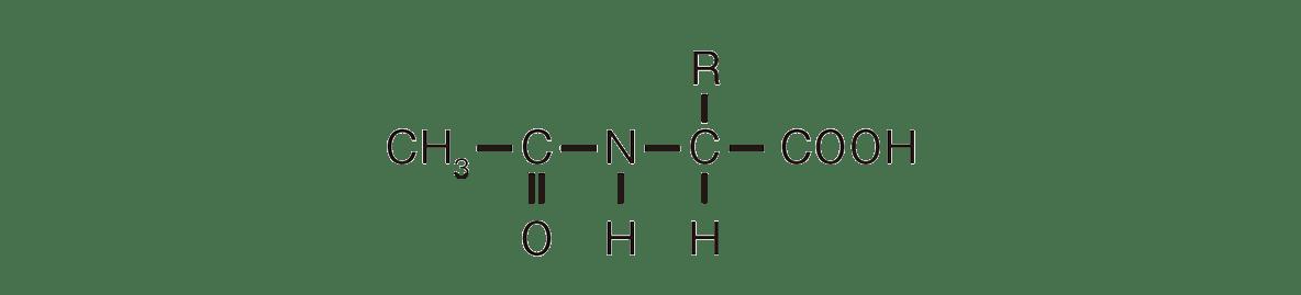 高校 化学 6章 2節 25 2 答えあり、ポイント枠・右下の構造式・矢印・「エステル化」不要