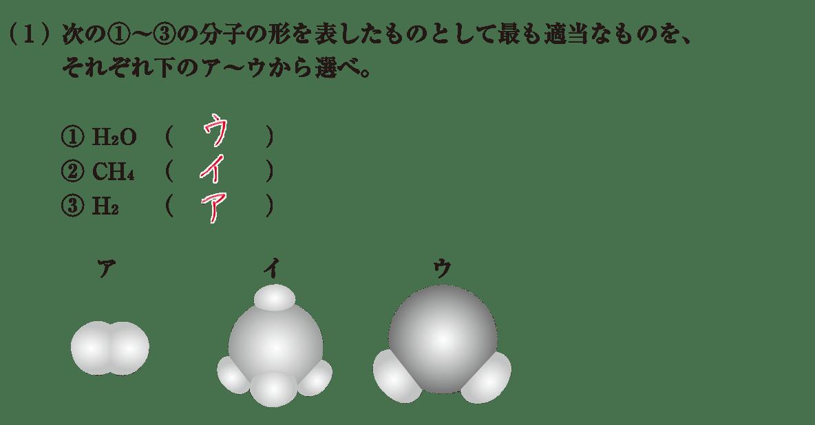 高校 理科 化学基礎35 練習(1) 答えあり
