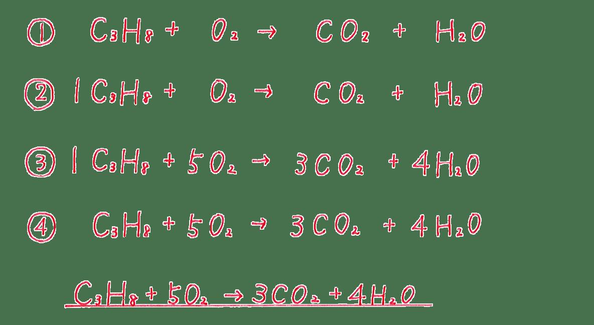 高校 理科 化学基礎 物質の変化13 練習 答えあり
