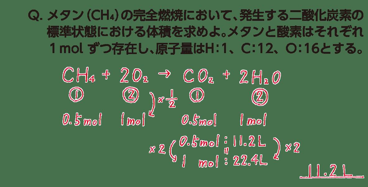 高校 理科 化学基礎 物質の変化15 ポイント2 答え全部