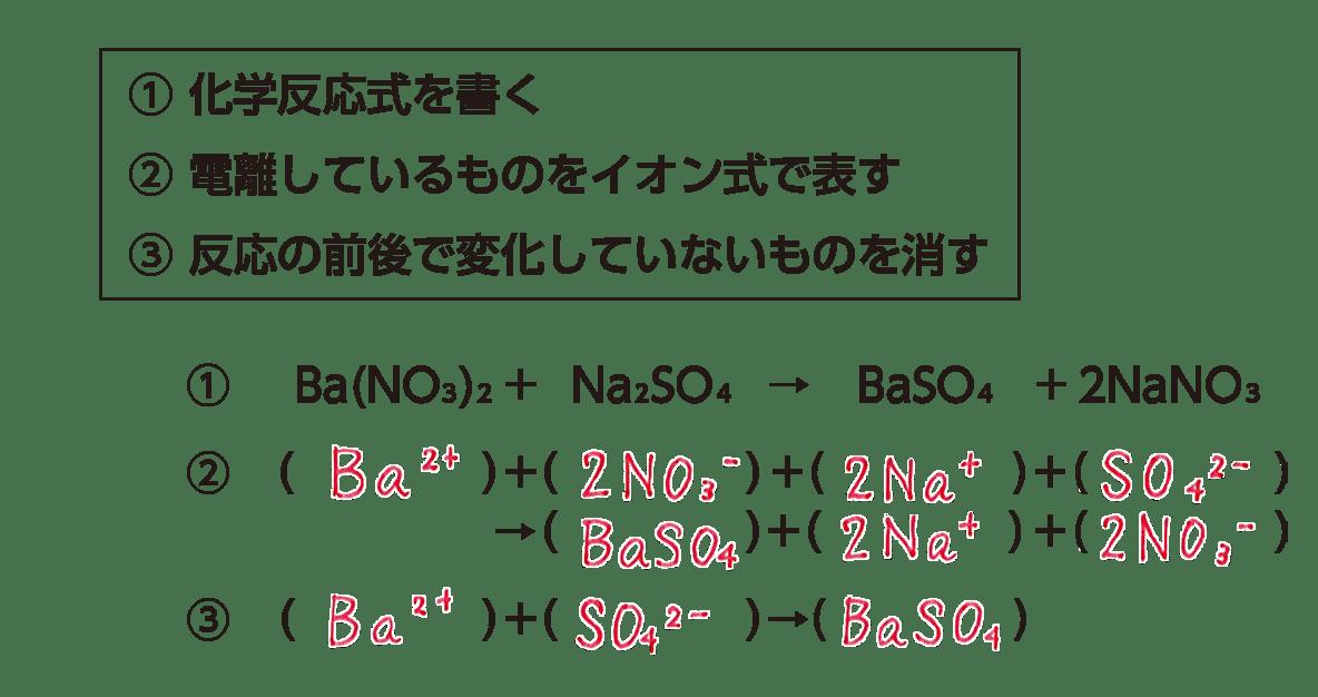 高校 理科 化学基礎 物質の変化16 ポイント2 答え全部