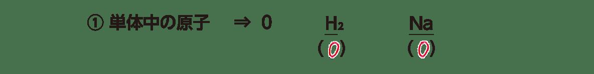 高校 理科 化学基礎 物質の変化35 ポイント2 ①の2行のみ 答え全部