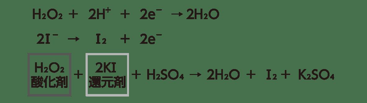 高校 理科 化学基礎 物質の変化41 ポイント1 反応式上3つのみ