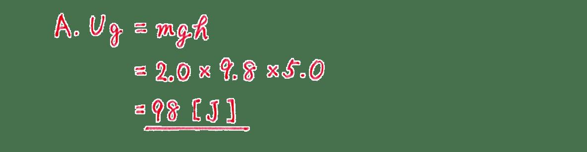 高校物理 運動と力54 練習 (1)解答全て