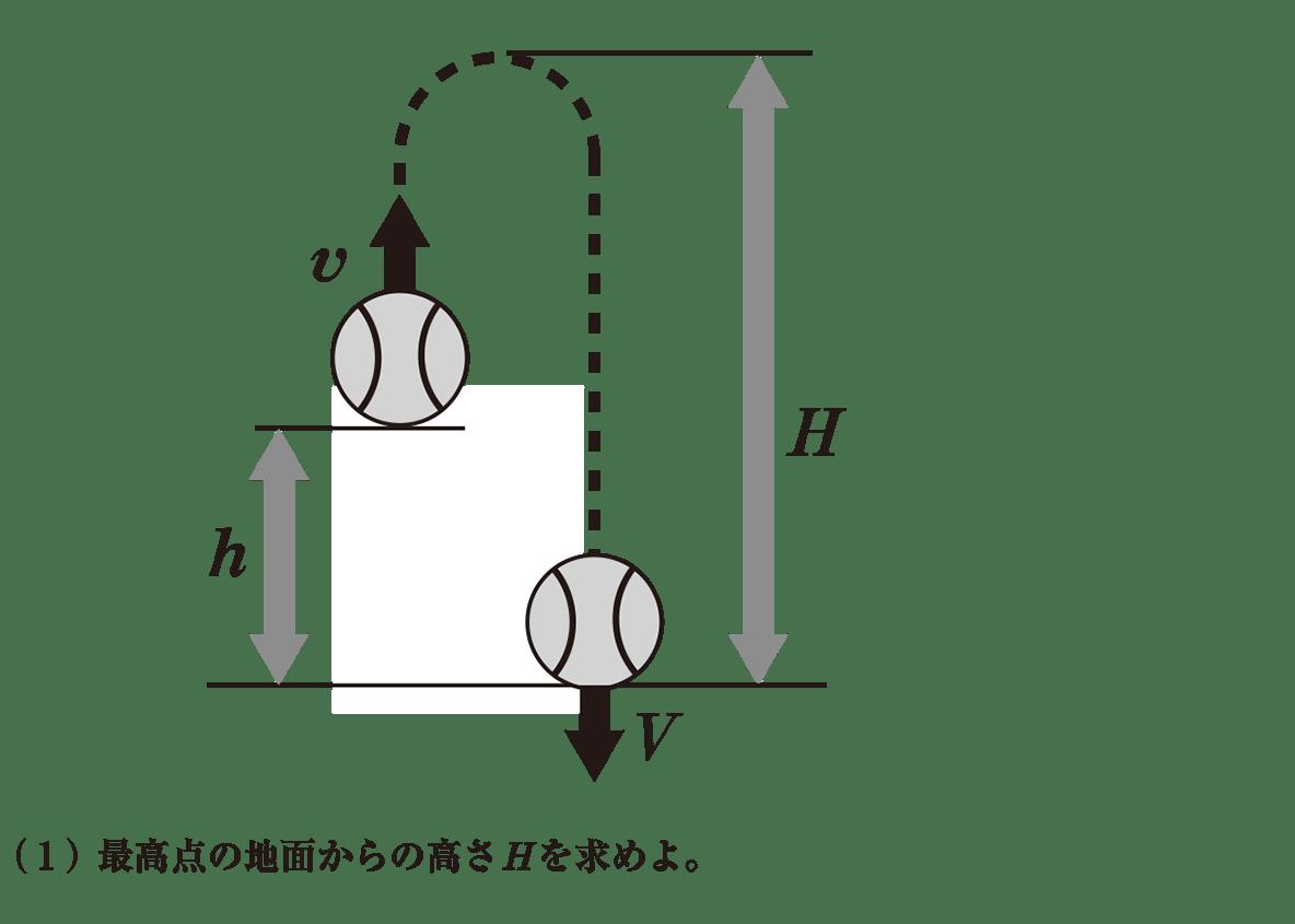 高校物理 運動と力56 練習 図と(1)