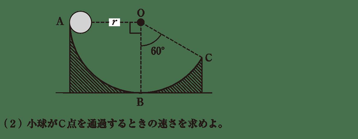 高校物理 運動と力57 練習1 書き込みなし図と(2)