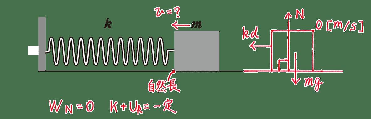高校物理 運動と力57 練習2 図と図の下側1行目