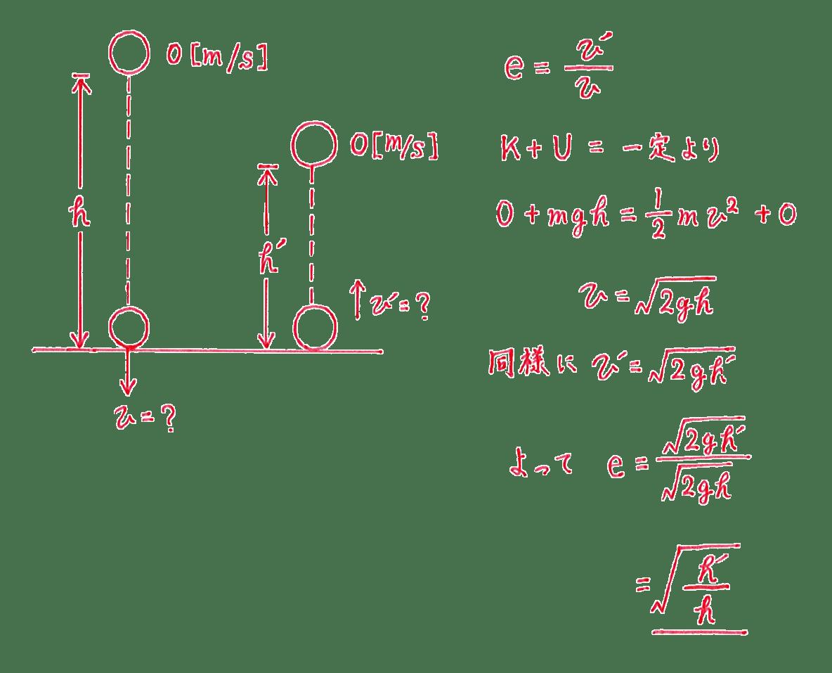 高校物理 運動と力65 練習 図と答え