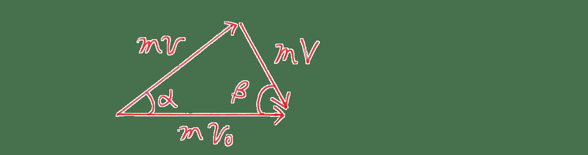 高校物理 運動と力68 練習 図の下の3つのベクトルの図