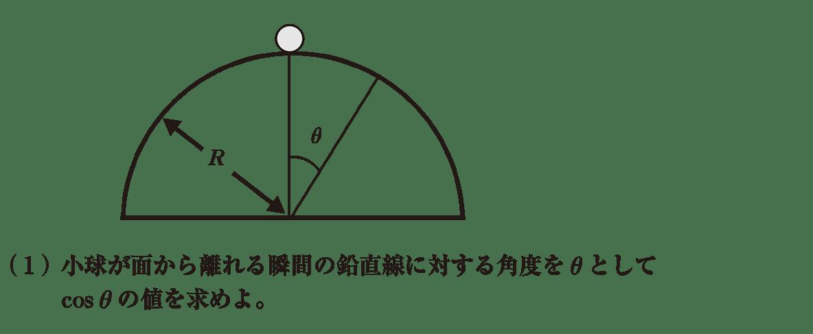 高校物理 運動と力75 練習 (1)問題文と図