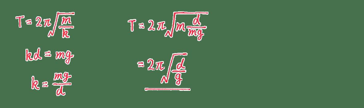 高校物理 運動と力88  練習 (1)解答すべて