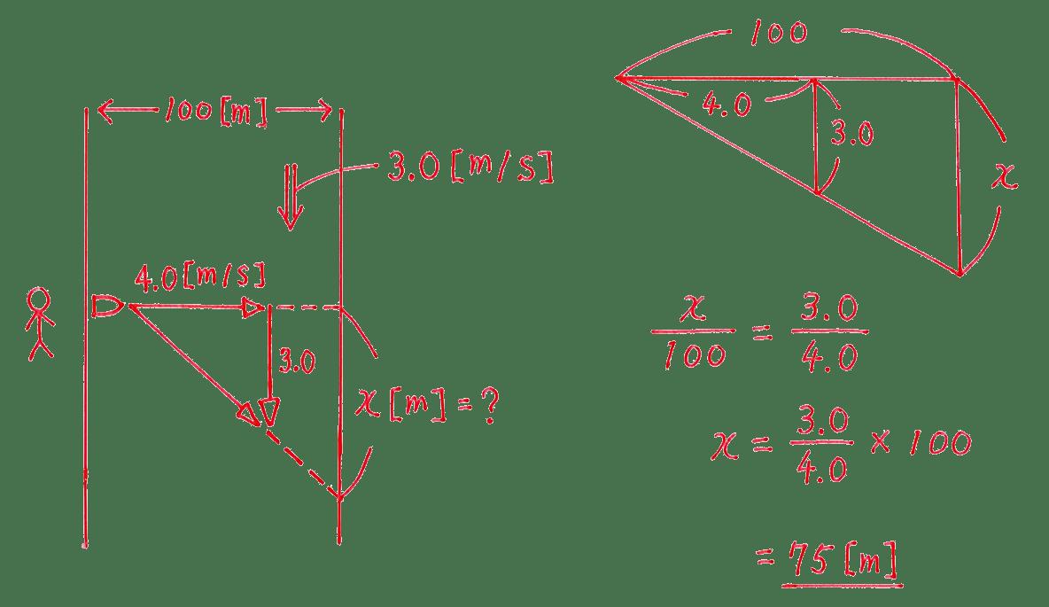 運動と力19の練習 (2)の式と答え