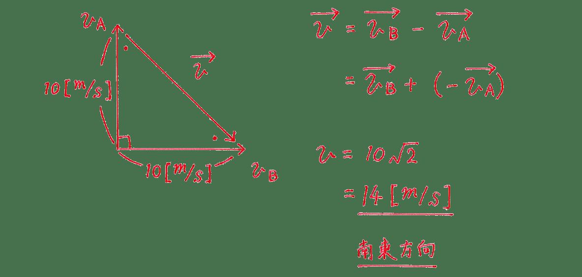 運動と力21の練習 (1)の式と答え