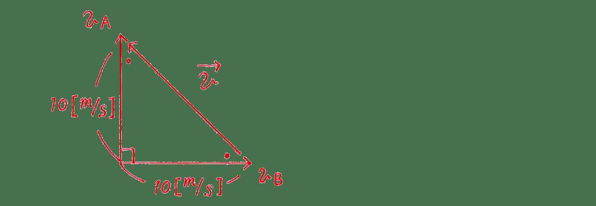 運動と力21の練習 (2)の作図