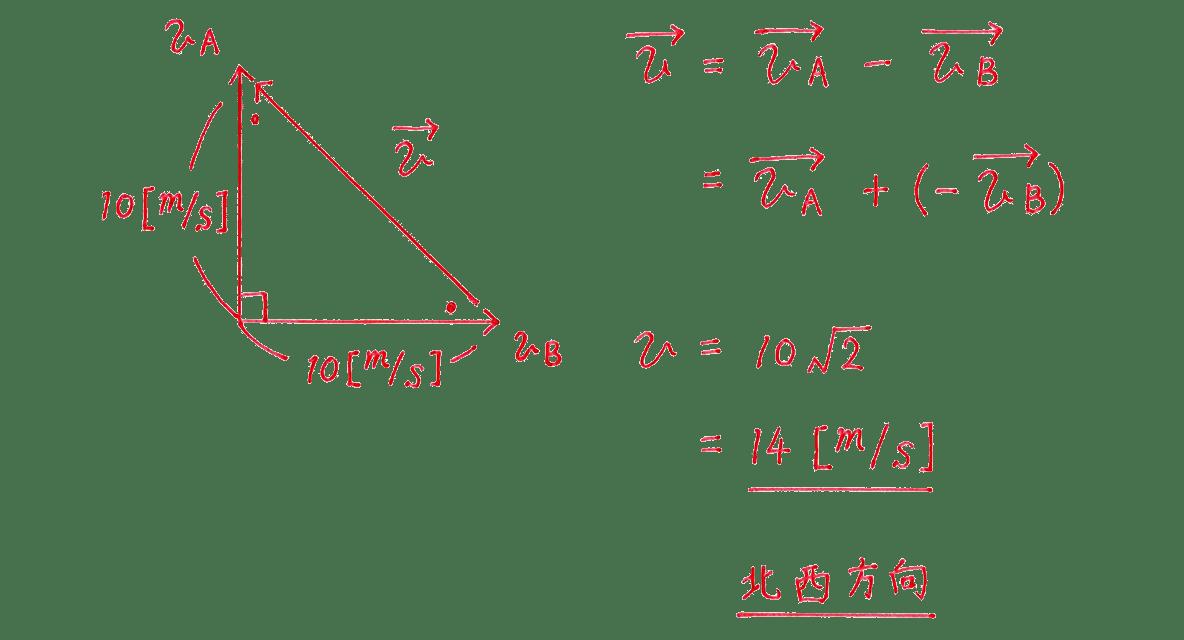 運動と力21の練習 (2)の式と答え