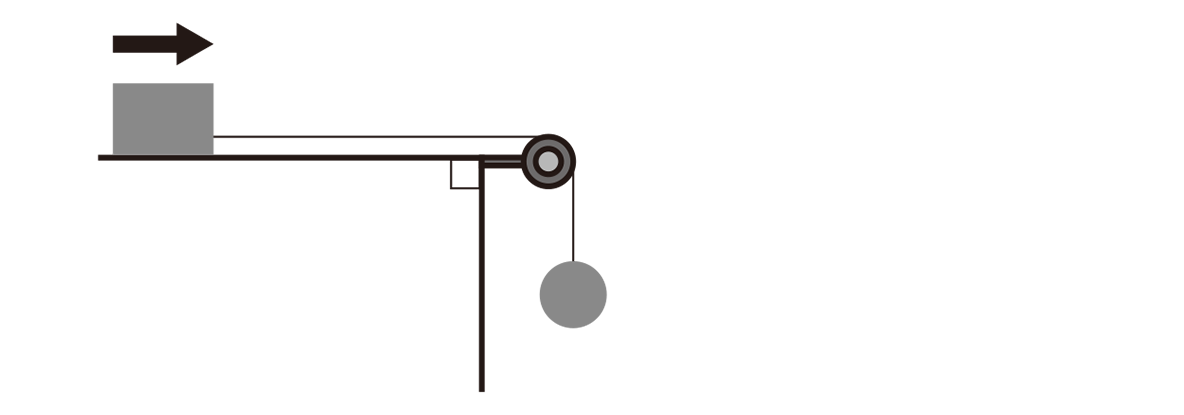 運動と力28のポイント1 上半分 左の図