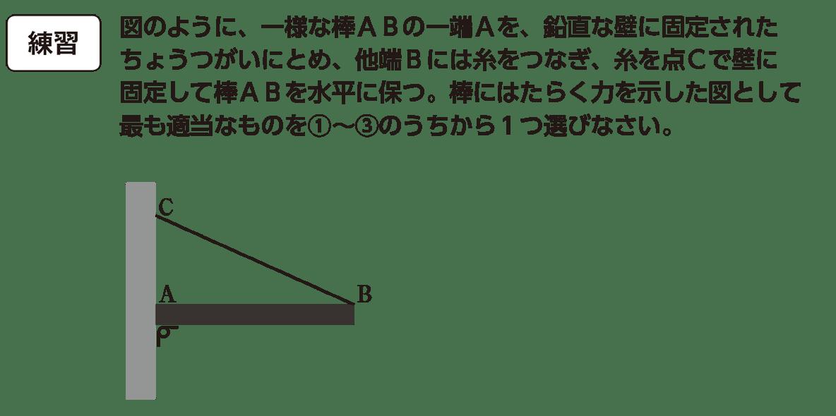 高校物理 運動と力40 練習 ①②③ぬき