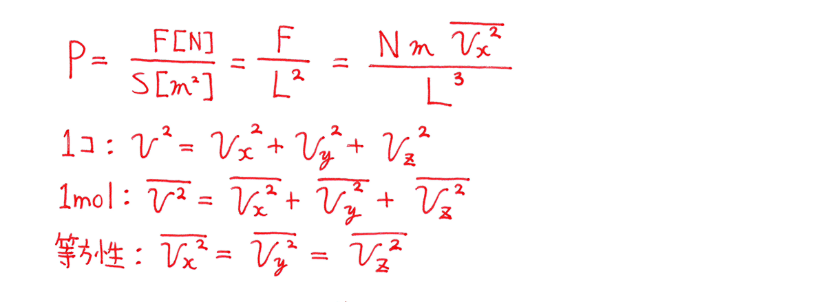 熱力学10 練習 (2)問題文の下 1~4行目