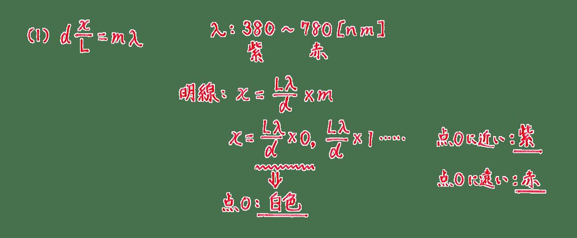 波動31 練習 (2)解答 すべて
