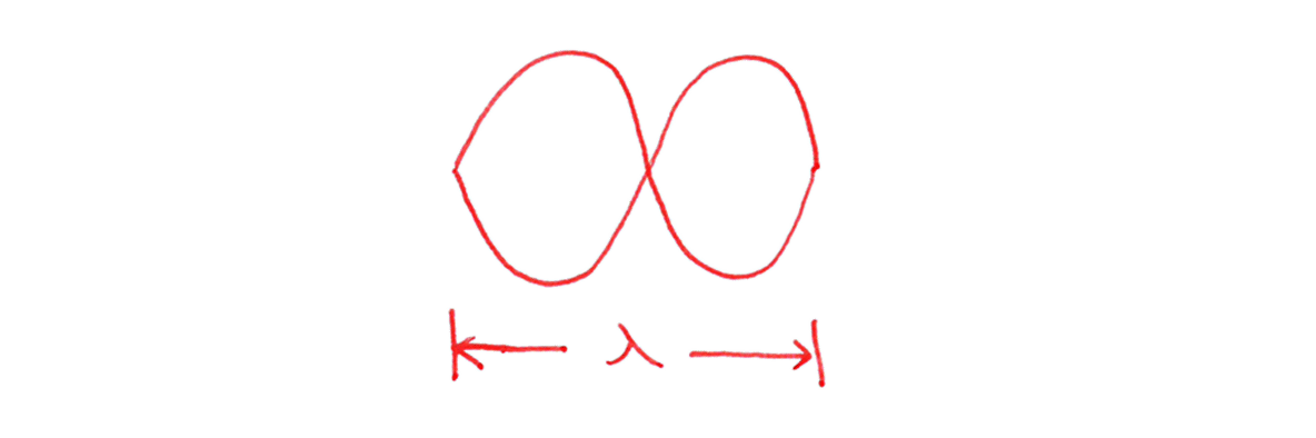 波動8 (2)手書きの図