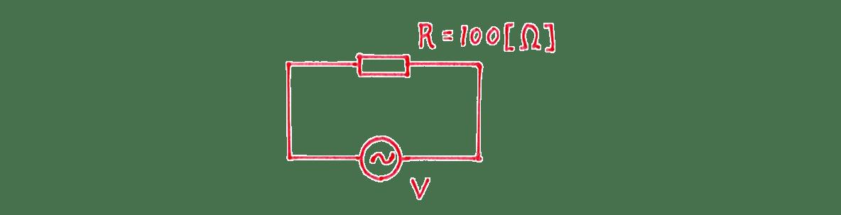 高校物理 電磁気52 練習 (1) てがき図
