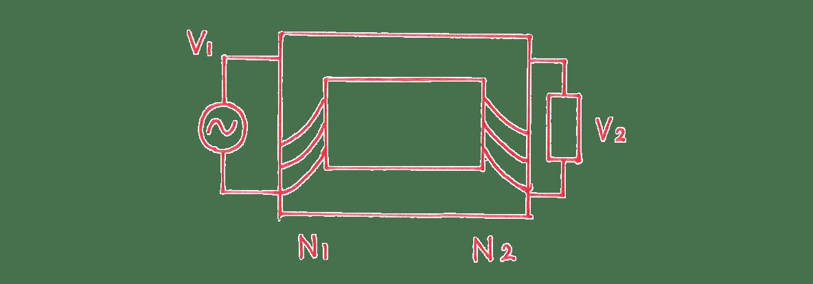 高校物理 電磁気56 練習1 図