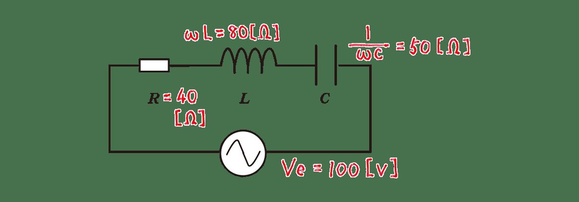 高校物理 電磁気57 練習 図 赤字の書き込み全てあり