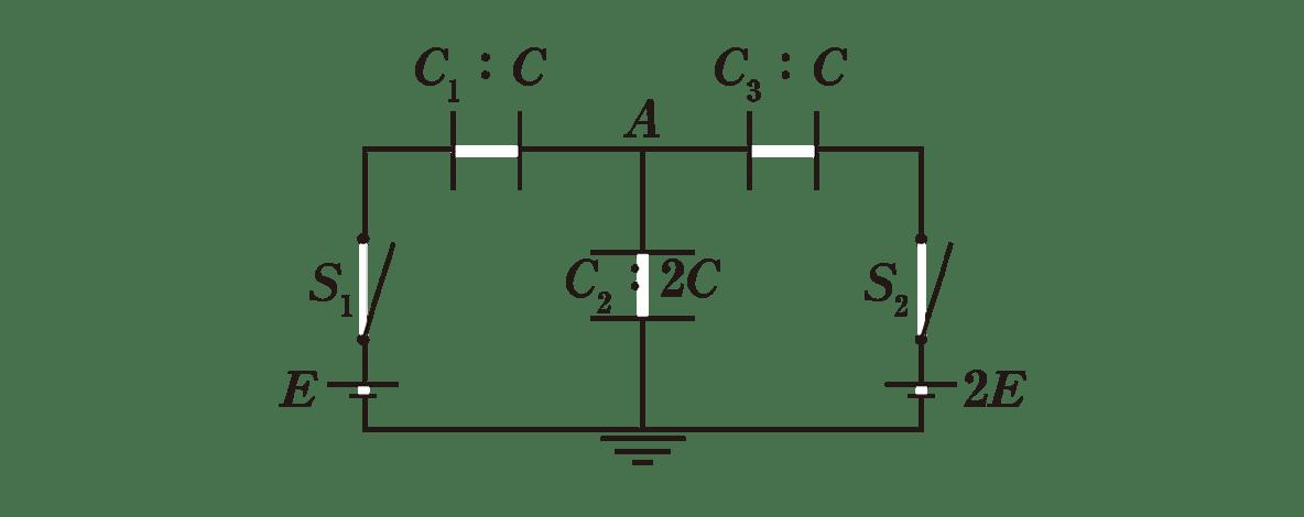 高校物理 電磁気19 練習(1) 問題文 図