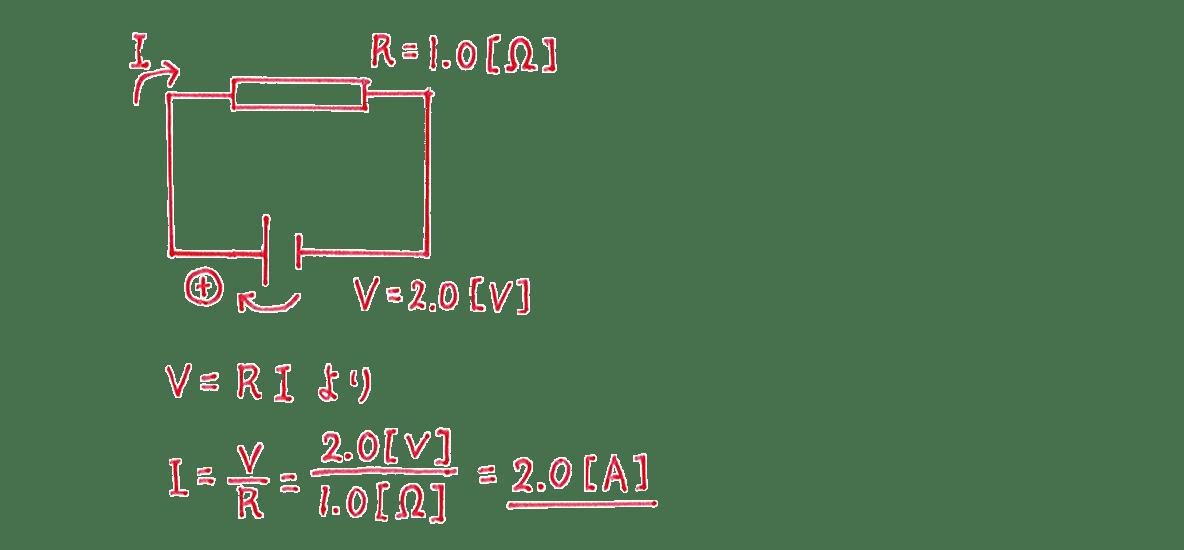 高校物理 電磁気23 練習 (2) 解答すべて