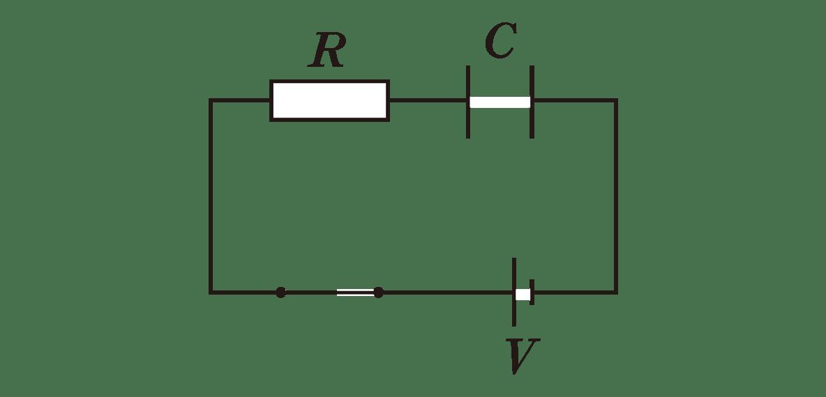 高校物理 電磁気35 ポイント1 図 スイッチくっつける