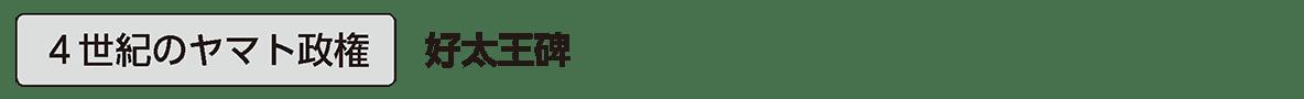 ヤマト政権2 単語1 4世紀のヤマト政権