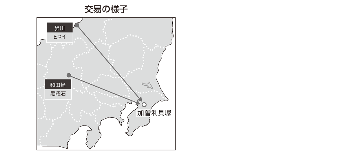 縄文時代1 ポイント2 地図のみ