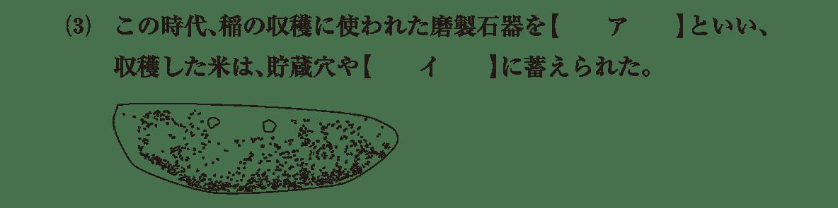 弥生文化3 問題1(3)