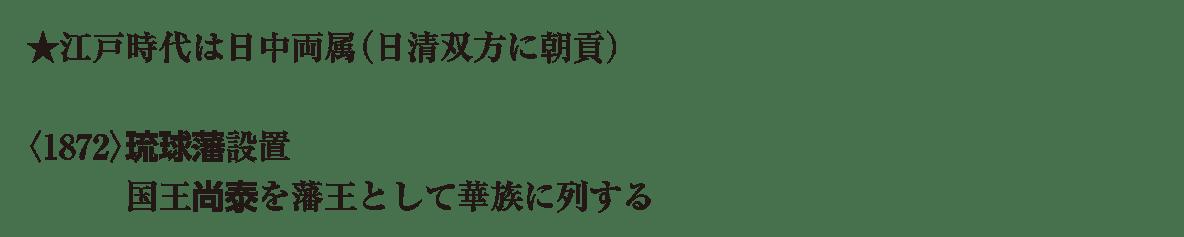 近代17 ポイント1 ★江戸時代 から 列する まで